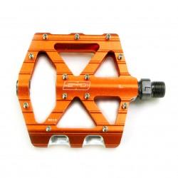 SD CNC Flatpedal V2 Expert Orange