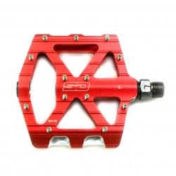 SD CNC Flatpedal V2 Expert Red