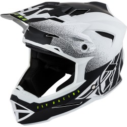 FLY Default Dither 2019 Helmet Matte White/Black