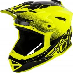 FLY Default Dither 2019 Helmet Hi-Vis Yellow/Black