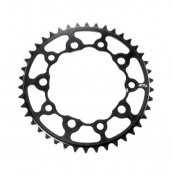 SD-X CNC 7075 Chainring 5 hole 110  Black