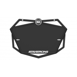 Stay Strong Plate Black