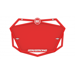 Stay Strong Plate Red