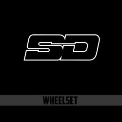 SD Wheelset Standard build with SD cassette hubset 4pawl & alloy rim