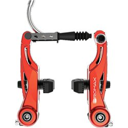 Promax P-1 Linear Pull V- Brakes 85mm Red