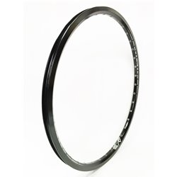 SD Rim Double Wall With Eyelets Black