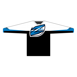 Zulu Race Jersey Black/Blue/White