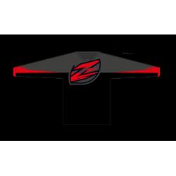 Zulu Race Jersey Black/Red/Grey