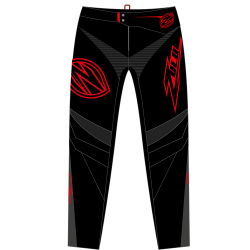 Zulu Pant Black/Red/Grey