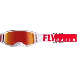 Fly 2019 Zone Pro Goggle Red/White W/Red Mirror Lens