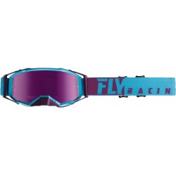 Fly 2019 Zone Pro Goggle Purple/Light Blue W/Pink Mirror Lens