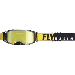 Fly 2019 Zone Pro Goggle Black/Yellow W/Gold Mirror Lens