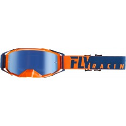 Fly 2019 Zone Pro Goggle Orange/Blue W/Blue Mirror Lens