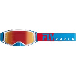 Fly 2019 Zone Pro Goggle Red/White/Blue W/Red Mirror Lens