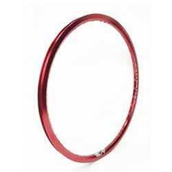 SD Rim Double Wall With Eyelets Ann. Red