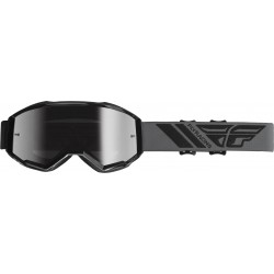 Fly 2019 Zone Goggle Black W/Silver Mirror Lens