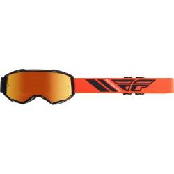 Fly 2019 Zone Goggle Black/Orange W/Orange Mirror Lens