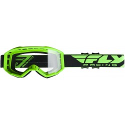Fly 2019 Focus Goggle Hi-Vis Green W/Clear Lens