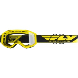 Fly 2019 Focus Goggle Yellow W/Clear Lens