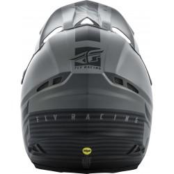 Fly F2 2019 Carbon Mips MX Helmet Shield Black/Grey