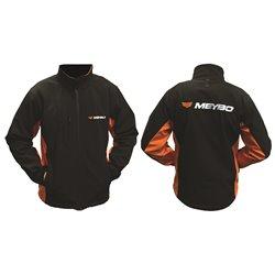 Meybo Logo Jacket Black/Orange