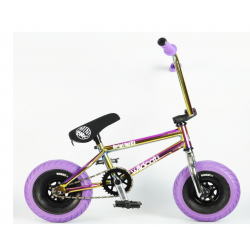 Wildcat Mini BMX 3Pcs Crank, With Disc Brake Oil Slick Purple