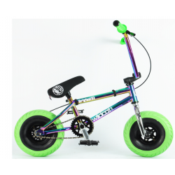 Wildcat Mini BMX 3Pcs Crank, With Disc Brake Oil Slick Green