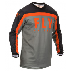Fly F-16 2020 Jersey Grey/Black/Orange