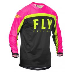 Fly F-16 2020 Jersey Neon Pink/Black/Hi-Vis