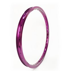 SD Rim Double Wall With Eyelets Purple