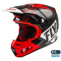FLY Formula Vector Helmet Red/White/Black Carbon