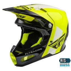 FLY Formula Origin Helmet Black/Hi-Vis Carbon