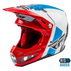 FLY Formula Origin Helmet Red/White/Blue Carbon