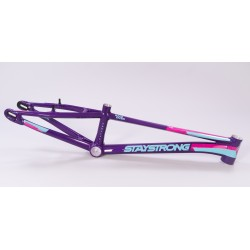 Stay Strong 2020 V3 for life frame Purple / Teal / Fuchsia