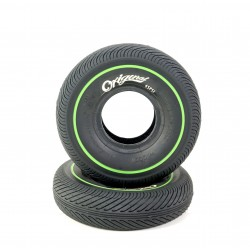 Wildcat Mini BMX Tire Black/Green Line