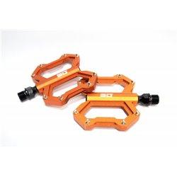 SD CNC Flatpedal (junior, expert, expert xl) Orange