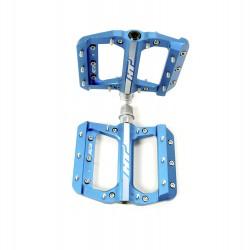 HT AE12 SX Bmx Platform CNC pedal Junior Marine Blue