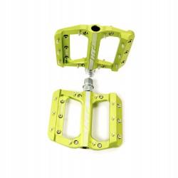 HT AE12 SX Bmx Platform CNC pedal Junior Apple Green