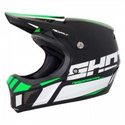 SHOT Rogue Revolt Helmet Neon Green/White Mat