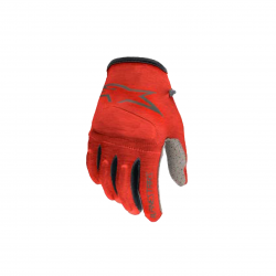 ALPINESTARS YOUTH RACER GLOVES BRIGHT RED ANTHRACITE BRIGHT RED