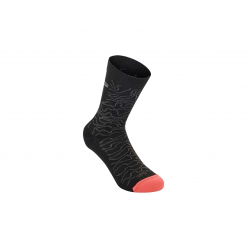 ALPINESTARS DROP SOCKS 15 BLACK MID GREY
