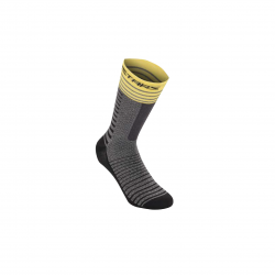 ALPINESTARS DROP SOCKS 19 MID GRAY YELLOW