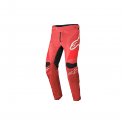 ALPINESTARS RACER PANTS BURGUNDY BRIGHT RED WHITE