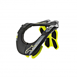 ALPINESTARS BNS TECH-2 BLACK YELLOW FLUO