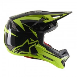 ALPINESTARS MISSILE TECH AIRLIFT - CE EN BLACK YELLOW FLUO GLOSSY