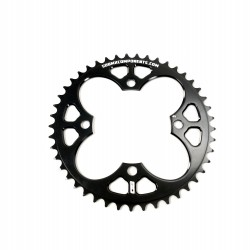 Sd Cnc 6061 V2 Chainring 4 Hole 104 Black