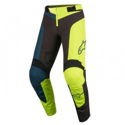 Alpinestars Youth Vector Pants Black Acid Yellow