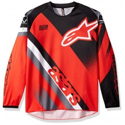 Alpinestars Youth Racer L/S Jersey Red Black