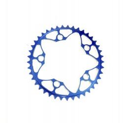 Sd-X Cnc 7075 Chainring 5 Hole 110 Blue