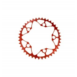 Sd-X Cnc 7075 Chainring 5 Hole 110 Red